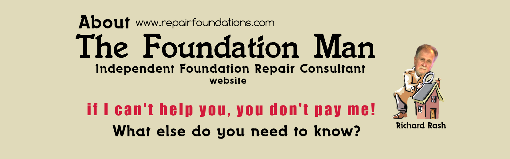 Foundation man website